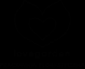LOVEGARDEN PRACOWNIA FLORYSTYCZNA LOGO